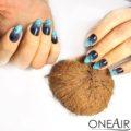 Дизайны с трафаретами и Профессиональными Красками для аэрографии на ногтях OneAir