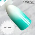 Профессиональная краска для аэрографии на ногтях OneAir типса мятная
