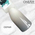 Профессиональная краска для аэрографии на ногтях OneAir типса серая