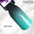 Профессиональная краска для аэрографии на ногтях OneAir типса черная мятная