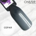 Профессиональная краска для аэрографии на ногтях OneAir типса черная серая
