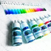 Профессиональные краски для аэрографии на ногтях OneAir База 10