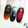 Дизайны с трафаретами Хэллоуин