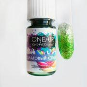 Профессиональные Краски для аэрографии на ногтях OneAir Салатовый кэнди
