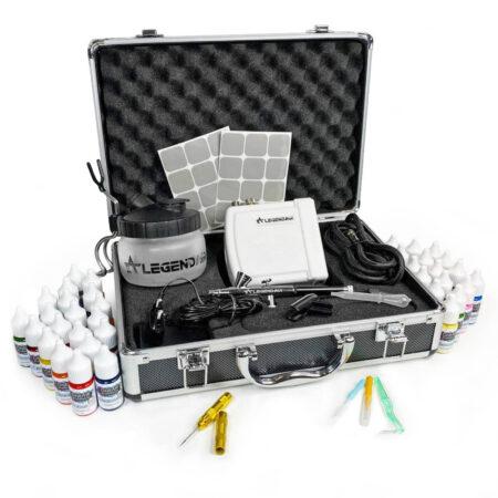Чемодан-кейс Air Box Стартовый набор для аэрографии на ногтях OneAir