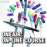 Онлайн курс аэрографии на ногтях OneAir