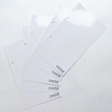 Съемные листы для блокнот на кольцах OneAir для хранения трафаретов