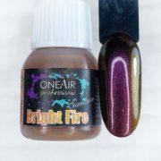 Краска для аэрографии на ногтях OneAir хамелеон bright fire