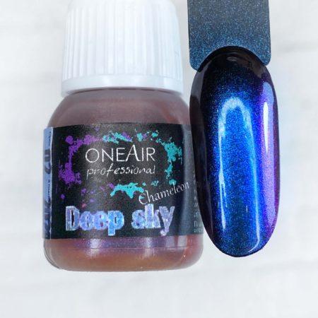 Краска для аэрографии на ногтях OneAir хамелеон Deep sky