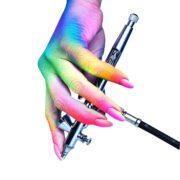 онлайн-курс по аэрографии на ногтях онлайн обучение по аэрографии на ногтях