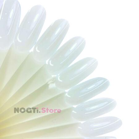 Типсы натуральные телесные овал миндаль на кольце купить NogtiStore