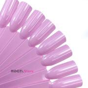 Типсы розовые квадрат 12см на кольце купить NogtiStore