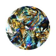 Фольга для ногтей мини черное золото