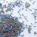 Икра для ногтей разноцветная