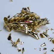 Поталь для литья глянцевая холодное золото