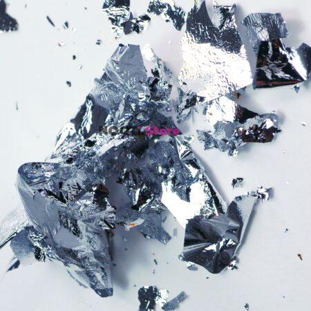 Поталь для литья глянцевая серебро