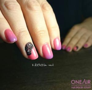 аэрография на ногтях, OneAir, One Air, студия OneAir, обучение OneAir, школа OneAir, , курсы аэрографии на ногтях OneAir, фото аэрография на ногтях