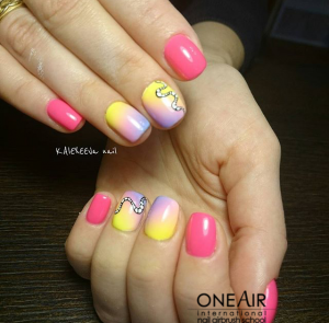 аэрография на ногтях, OneAir, One Air, студия OneAir, обучение OneAir, школа OneAir, , курсы аэрографии на ногтях OneAir, фото аэрография на ногтях, краски для аэрографии на ногтях OneAir